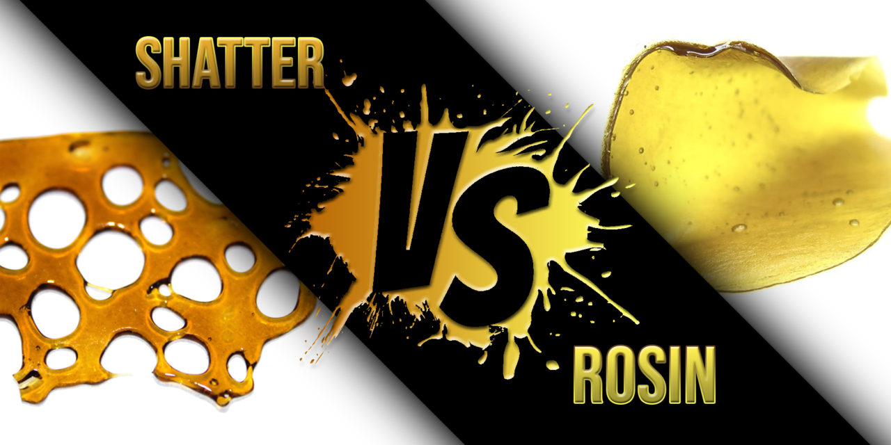 Rosin vs. Shatter: What's the Difference